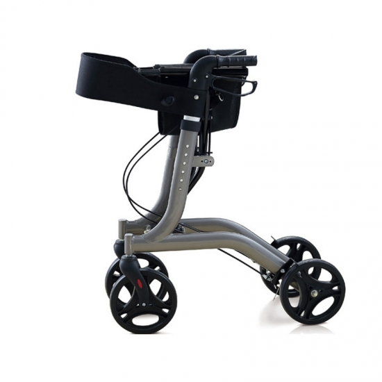 Buy nitro aluminum four wheel mobility rollator walker for Mobility walker