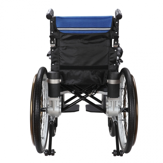 Buy New Economy Foldable Manual Electric WheelchairNew