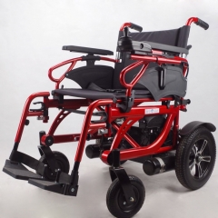 handicapped electric power wheelchair