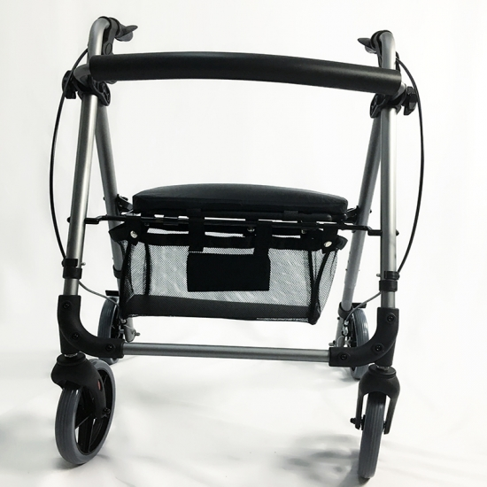 Buy Lightweight 4 Wheel Medical Rollator Walkers With Seat
