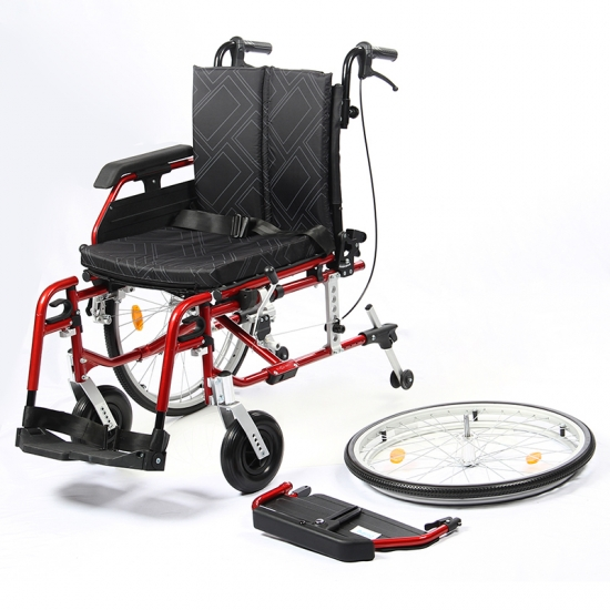 buy luxury aluminum lightweight folding wheelchairs for sale