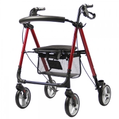 lightweight walker with seat