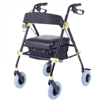 Upgraded Aluminum Rollator Walker